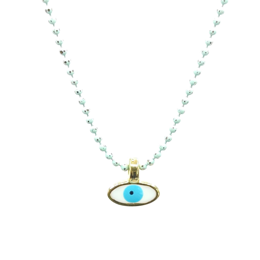 Mini Evil Eye (Mati) Necklace