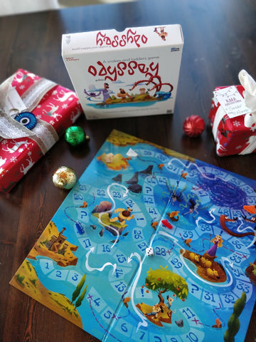 Odyssey: A Snakes and Ladders Game