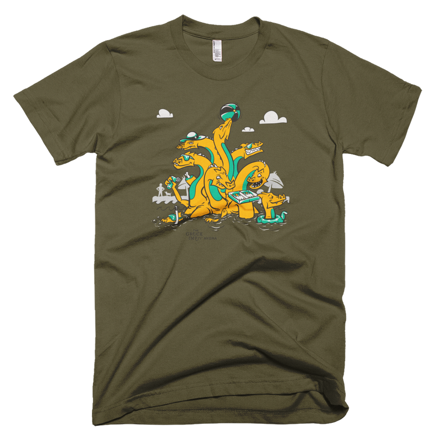 Hydra 9 Headed Dragon Unisex T-Shirt