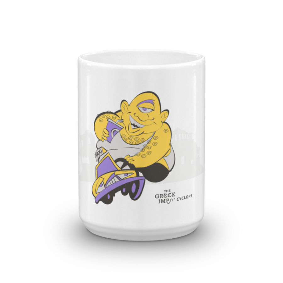 The Cyclops Taxi Service Mug
