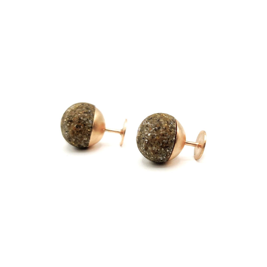 Handmade Jewelry from Greece - Unique Stud Earrings