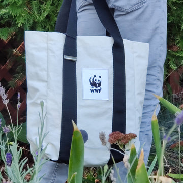Sustainably Handmade Shopping Bag