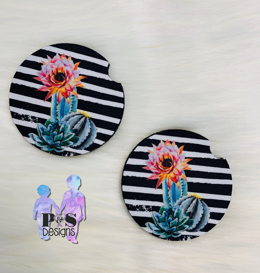 Cactus Car Coaster