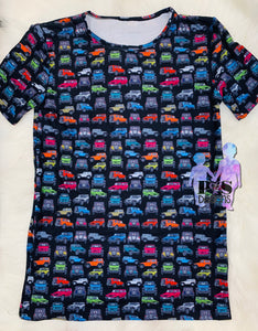 Colors of 4WD Tee