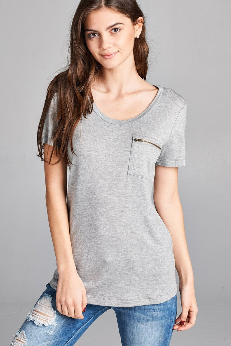 Basic Short Sleeve Top