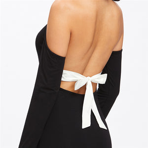 Backless Bodycon Pencil Dress