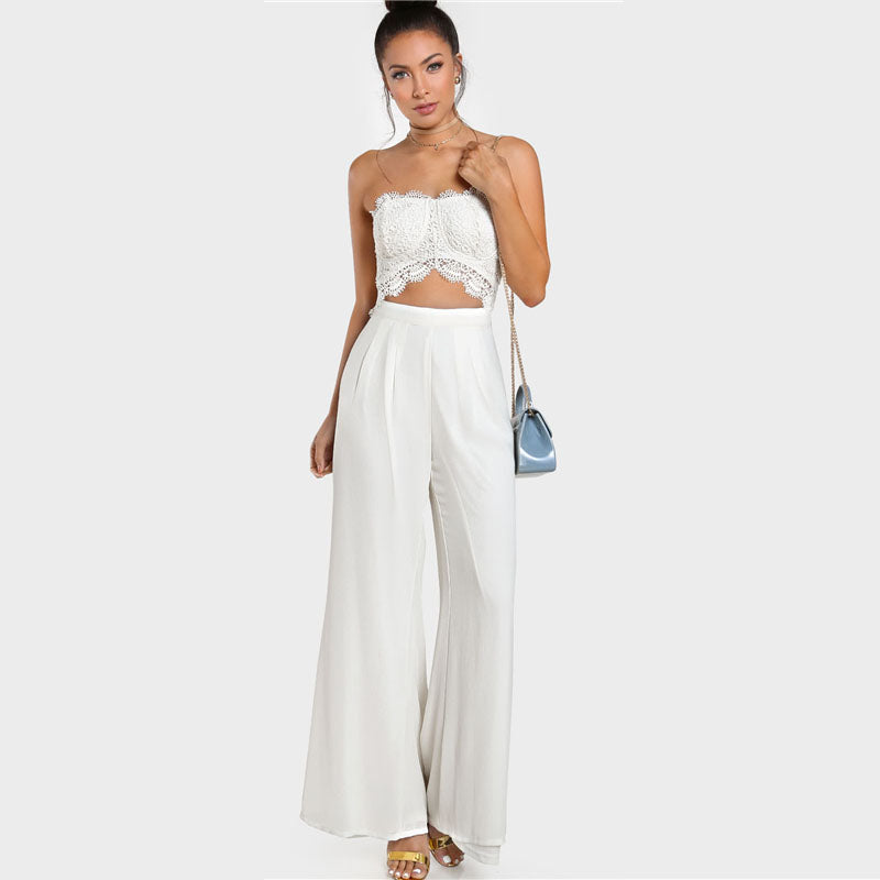 The Newport Strapless Jumpsuit