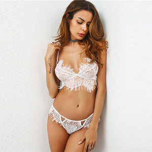 White Lace Lingerie Set