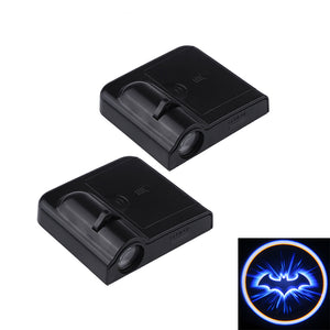 2pcs Wireless Car Door Led Welcome Laser Projector Logo