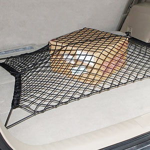 Car Trunk Box Rear Cargo Organizer Storage Elastic Mesh Net Holder