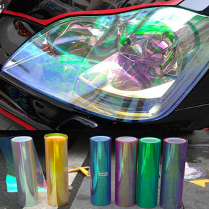 0.3*2M Chameleon Car Styling Film Headlights Stickers Color Change Film Vinyl Film
