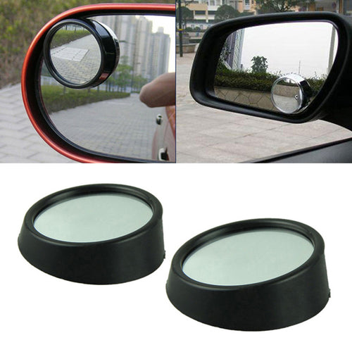 2017 New Hot Driver 2PCS 2 Side Wide Angle Round Convex Car Blind Spot Mirror Adjustable Free Shipping&Wholesale