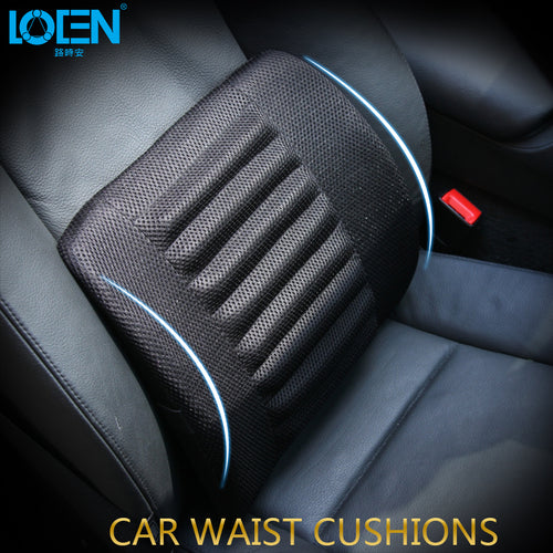 Car Seat Lumbar Supports Back Cushion Pillow