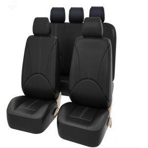 9pcs/Set Fashion PU Leather Car Seat Covers