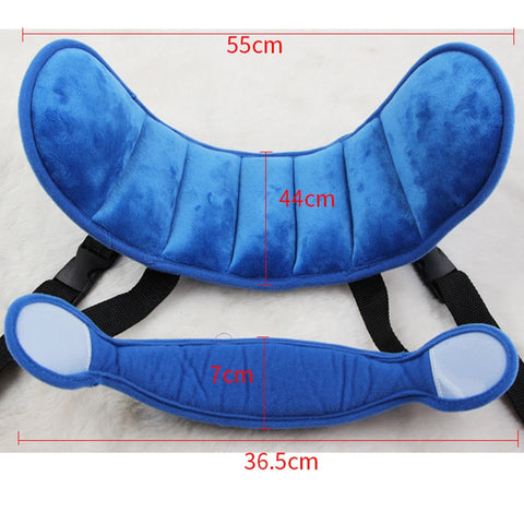 Baby Head Fixing Strap Brace Child Car Safety