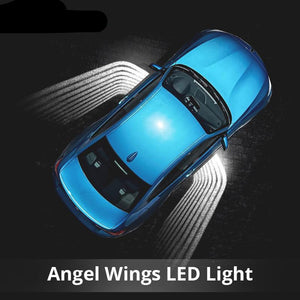 2Pcs Angel Wings Car Welcome Light Shadow Light Projector