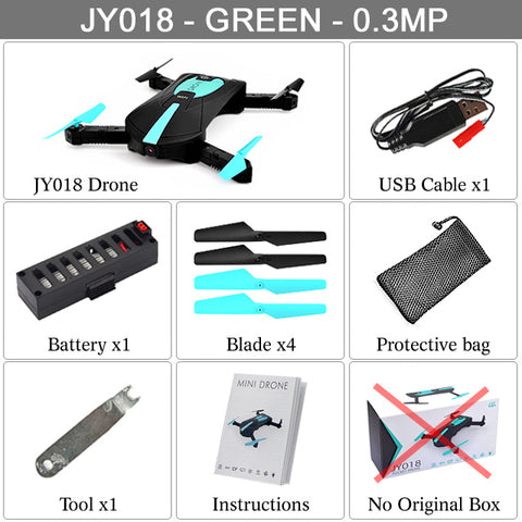 Image of Portable Mini Selfie Drone Foldable Helicopter