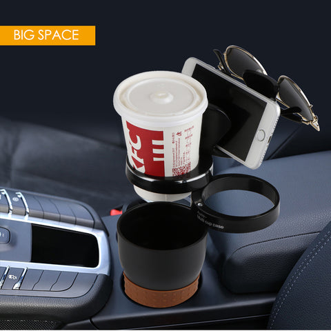 Universal Multifunction Car Cup Holder Rotatable Convient Design