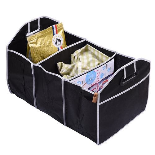 Car Truck Van SUV Storage Basket Trunk Organizer Boot Stuff Food
