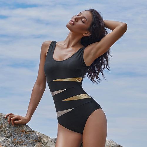 The Brakala Solo Cut Swimsuit | Black One Piece