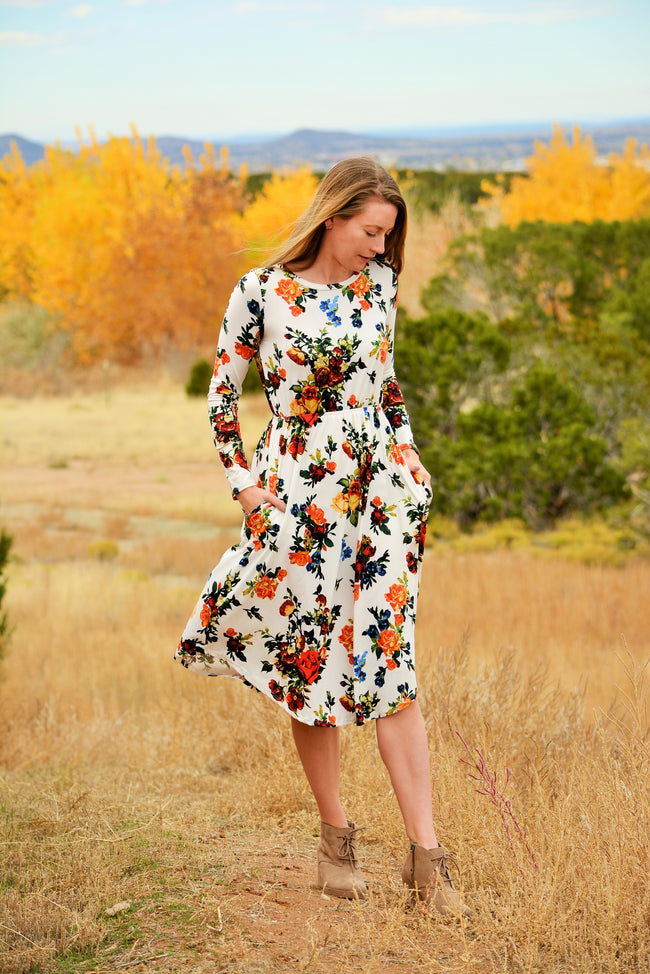 Desert Rose Midi Dress