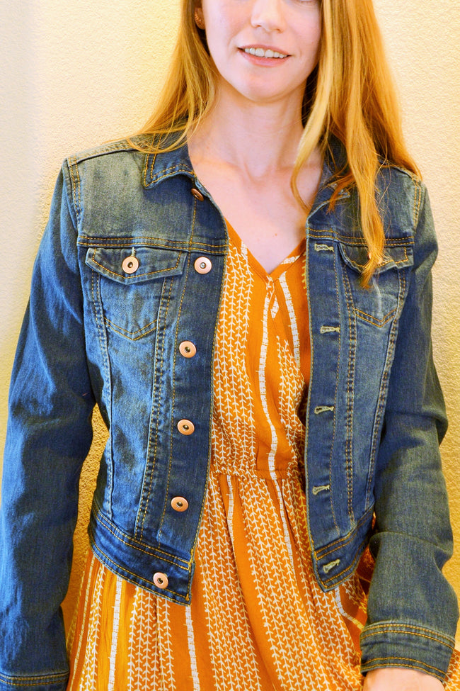 Classic Denim Jacket Medium Wash