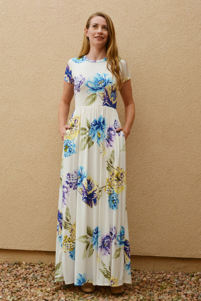 Bouquet of Blessings Floral Dress
