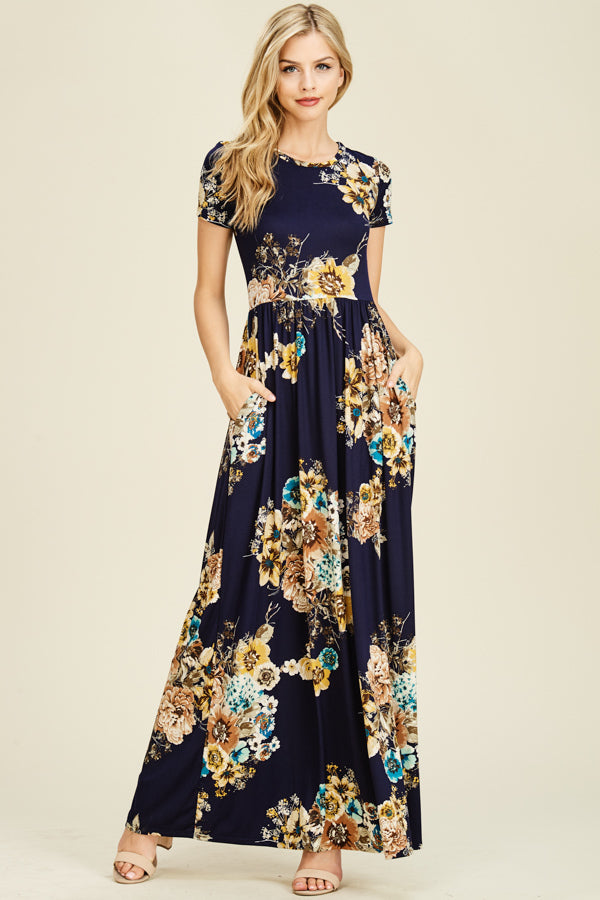 Maxi Dress with Short