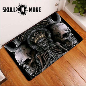 SnM - Mummies Skull Door Mat