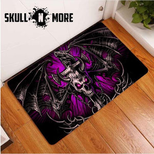 SnM - Purple Cross Sword Door Mat