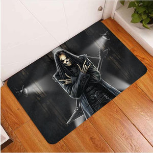 SnM - Rock Star Skull Door Mat