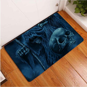 SNM - Skull Ghost Door Mat