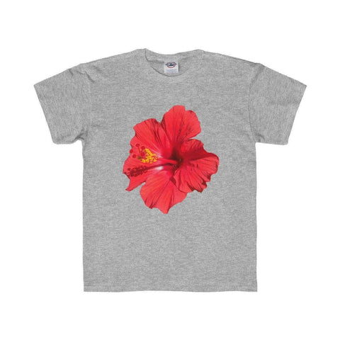 Hibiscus Kids Regular Fit Tee