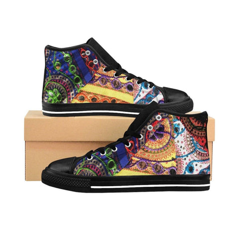 Desi Folk Women's High-top Sneakers