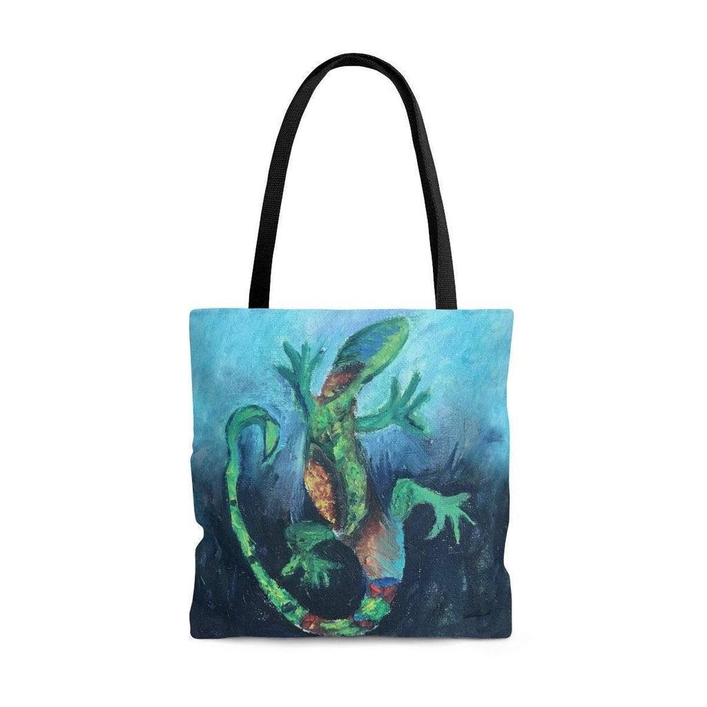 Wise Lizard Tote Bag