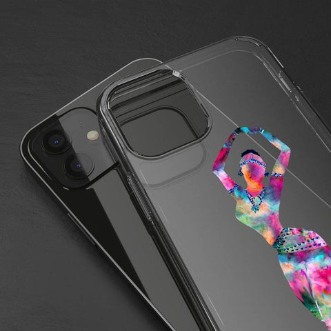 Holi Hai Dancer Phone Case (Clear Case)