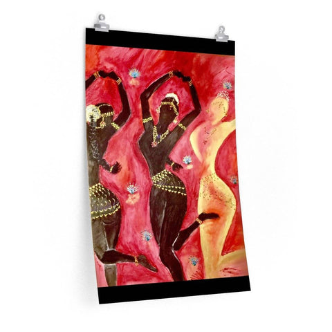 3 Temple Dancer Poster