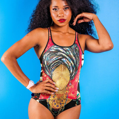 Fela's Queen Classic One-Piece Swimsuit
