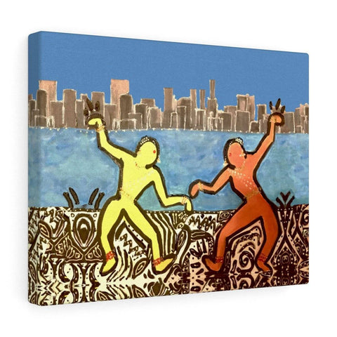 City Dancers Canvas Print
