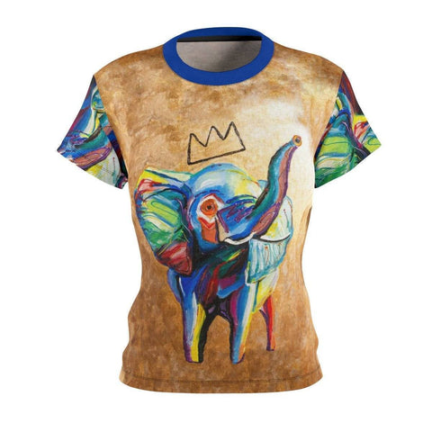 Elephant X Crown Women's Cut & Sew Tee