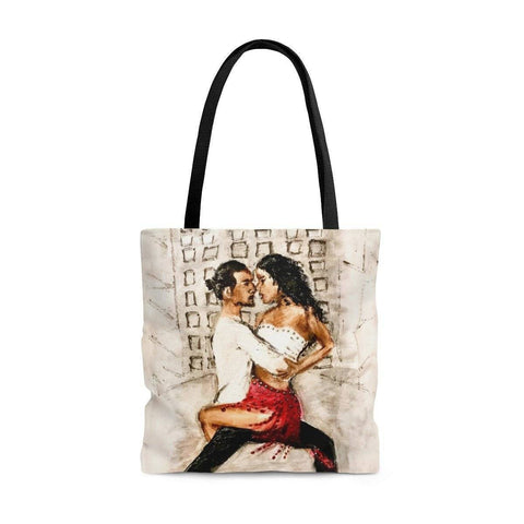Salsa Nights Tote Bag