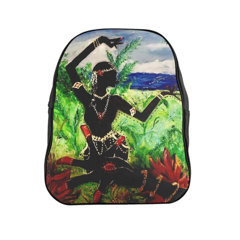Lotus Hand & Dancer Backpack