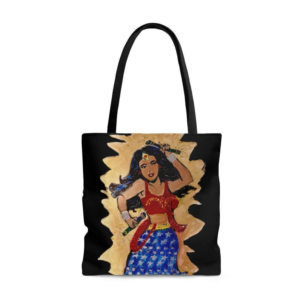Desi Wonder Woman Tote Bag
