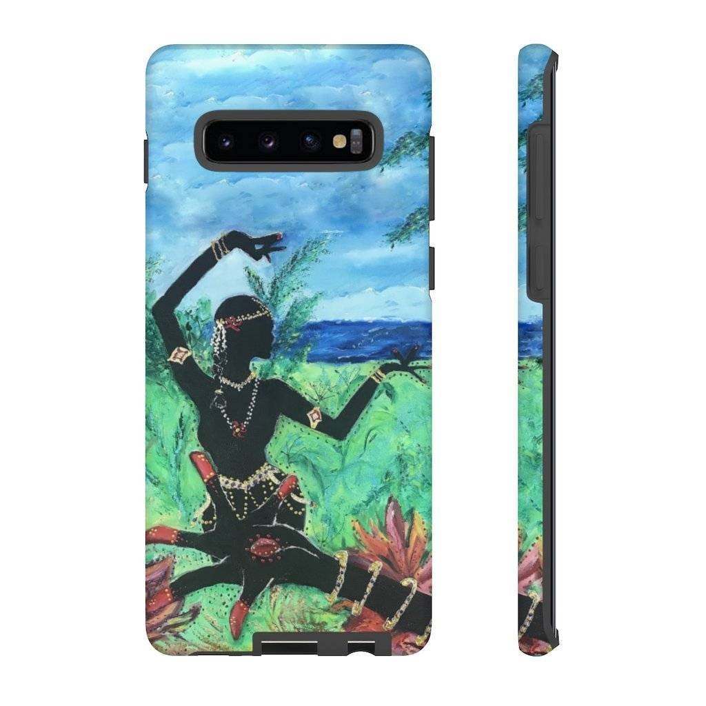 Lotus Hand & Dancer Phone Case (Tough Case)
