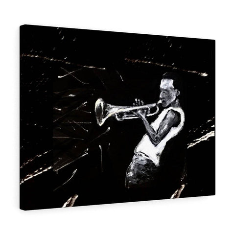 Miles Davis Canvas Gallery Print