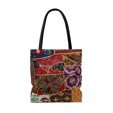 Desi Patchwork Tote Bag