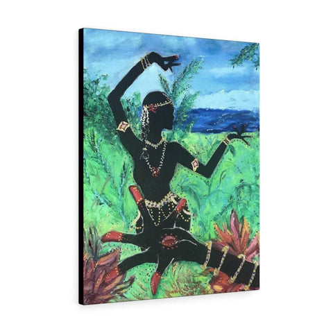 Lotus Hand and Dancer Canvas Print