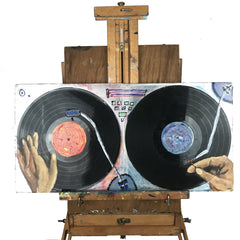Turntable Painting