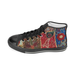 Desi Patchwork Men's Classic High Top Sneaker
