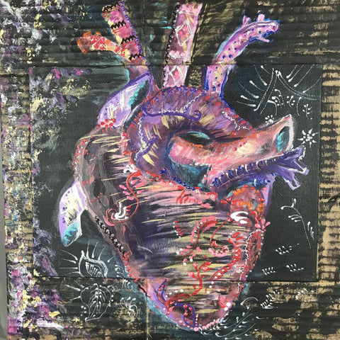 Heart Beat Painting